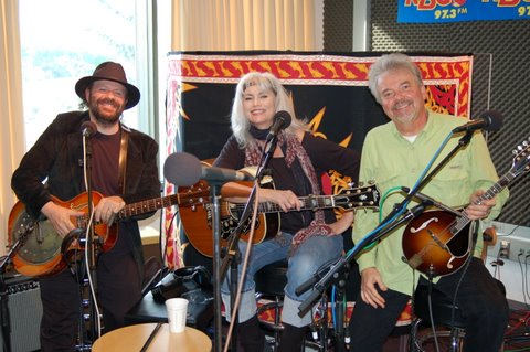 colin with emmylou harris and ricky simpkins